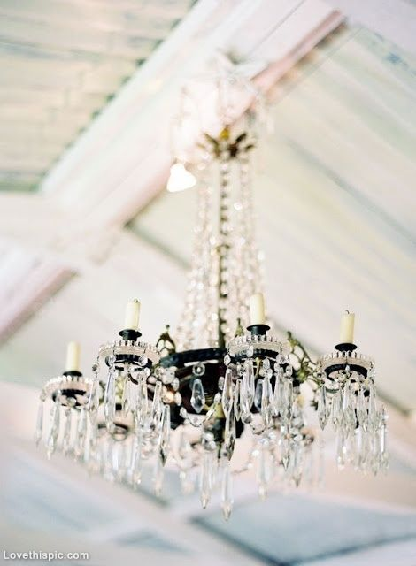 Crystal chandelier wedding lights home decor vintage candles ...