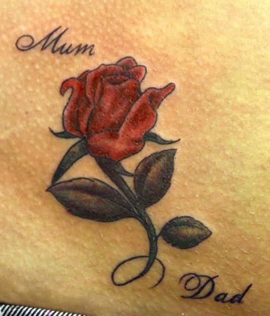 Closed Rose Bud Tattoo Meaning