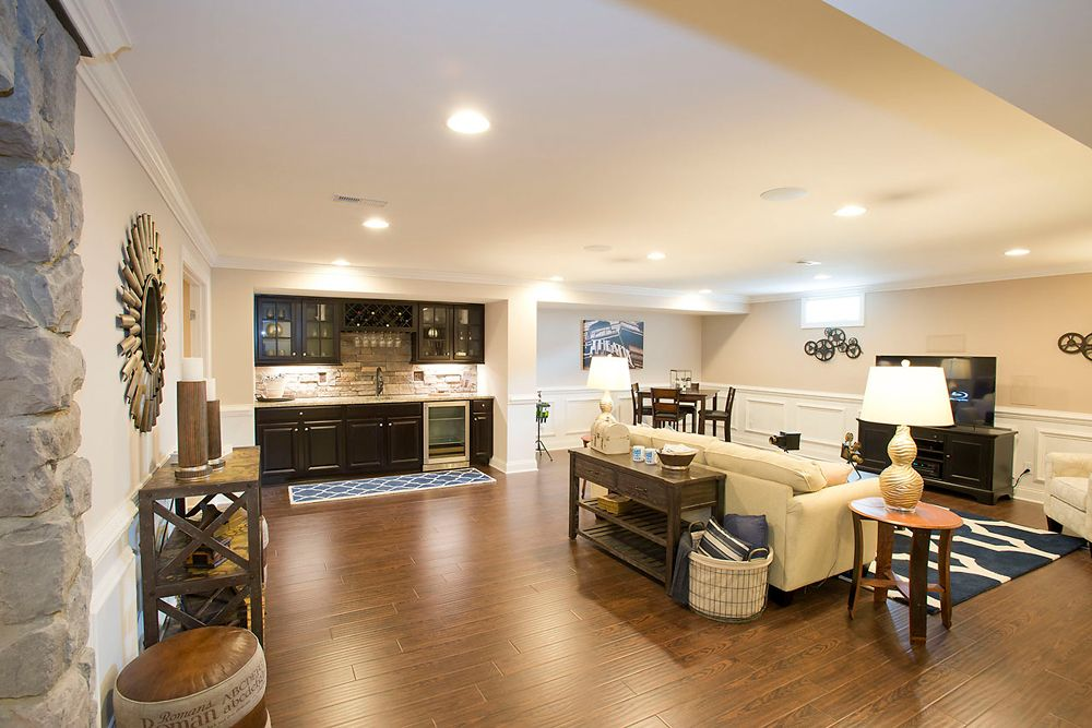 Finished basement luxury homes home type photos for Luxury basements