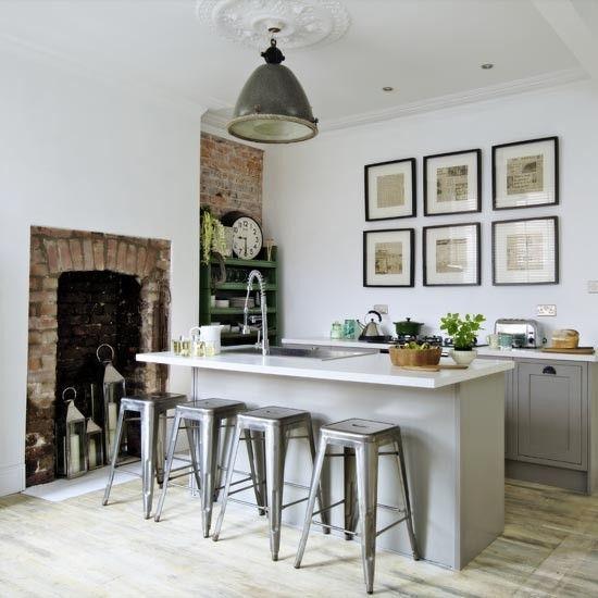 Modern Industrial Style Kitchen Diner   Modern Industrial Kitchen    Makeover   PHOTO GALLERY  