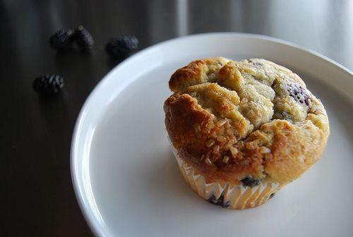 Mulberry-Orange Muffins
