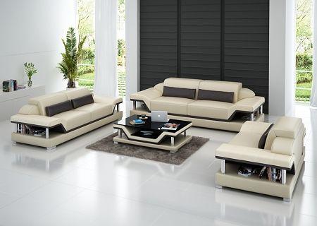 Elio Italian Leather Sofa Set Modern Sofa Sectional Sofa Set
