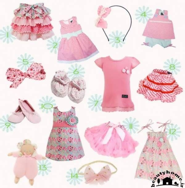 لباس نوزاد جهت سیسمونی