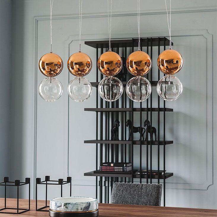 Cattelan Italia Apollo Lamp By Oriano Favaretto Vetro Trasparente Paralumi Lampade