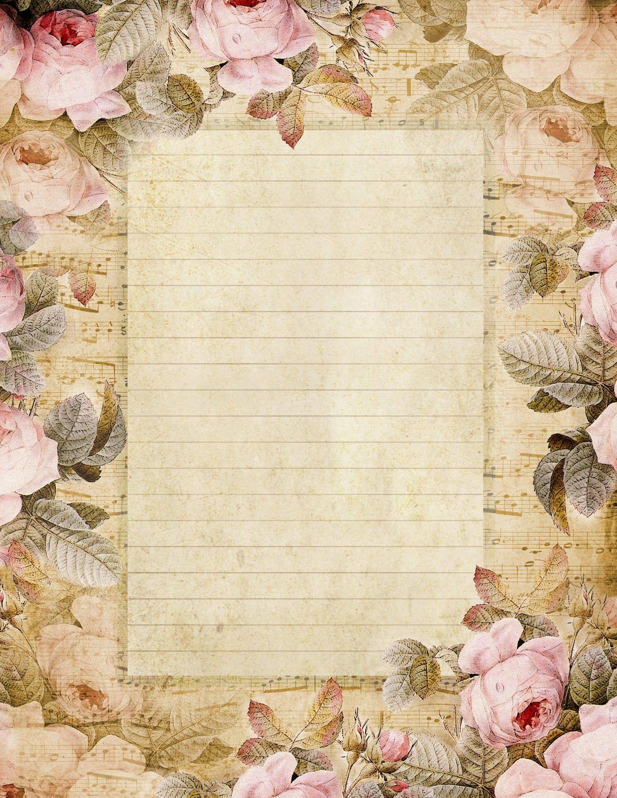 Фоны для открыток и писем