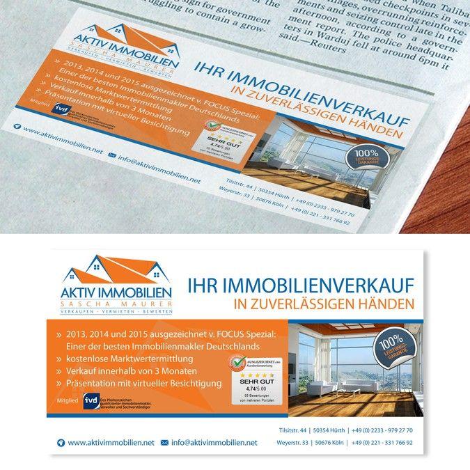 Printanzeige f眉r Wochenzeitung by simona n.