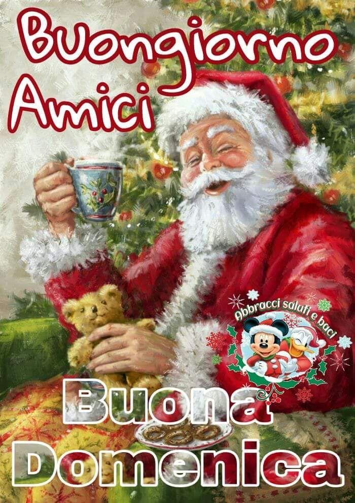 Buona Domenica Immagini Natalizie.Buongiorno Amico Buona Domenica Buon Natale
