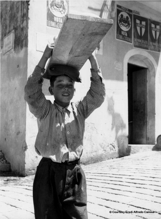 Alfredo Camisa, Il garzone del panettiere (1955)