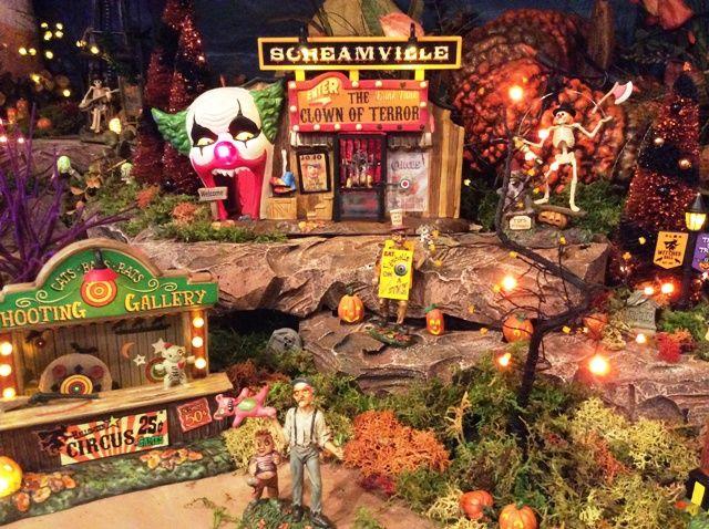 department 56 halloween village display - Google Search | • Dept ...