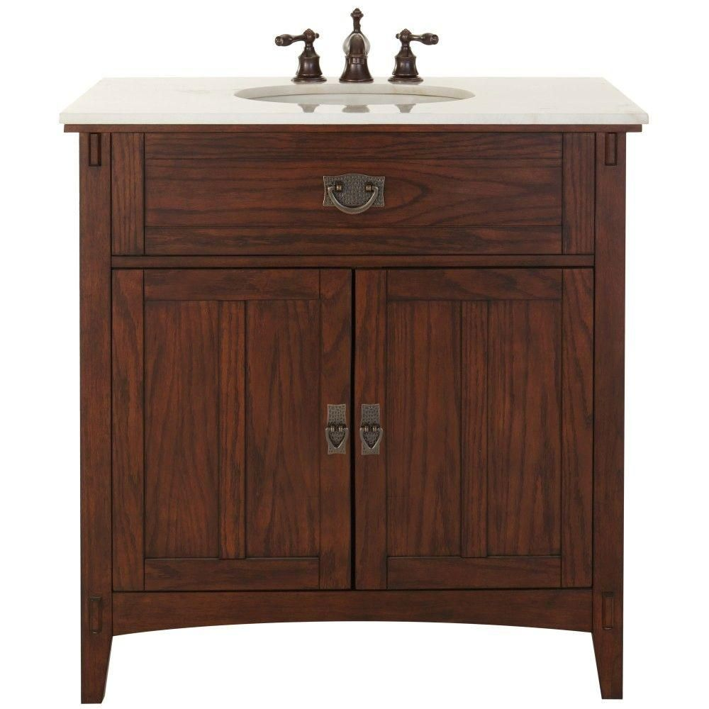 Home Depot Sonoma Vanity: Home Decorators Collection Sonoma 24 In. W X 20.25 In. D