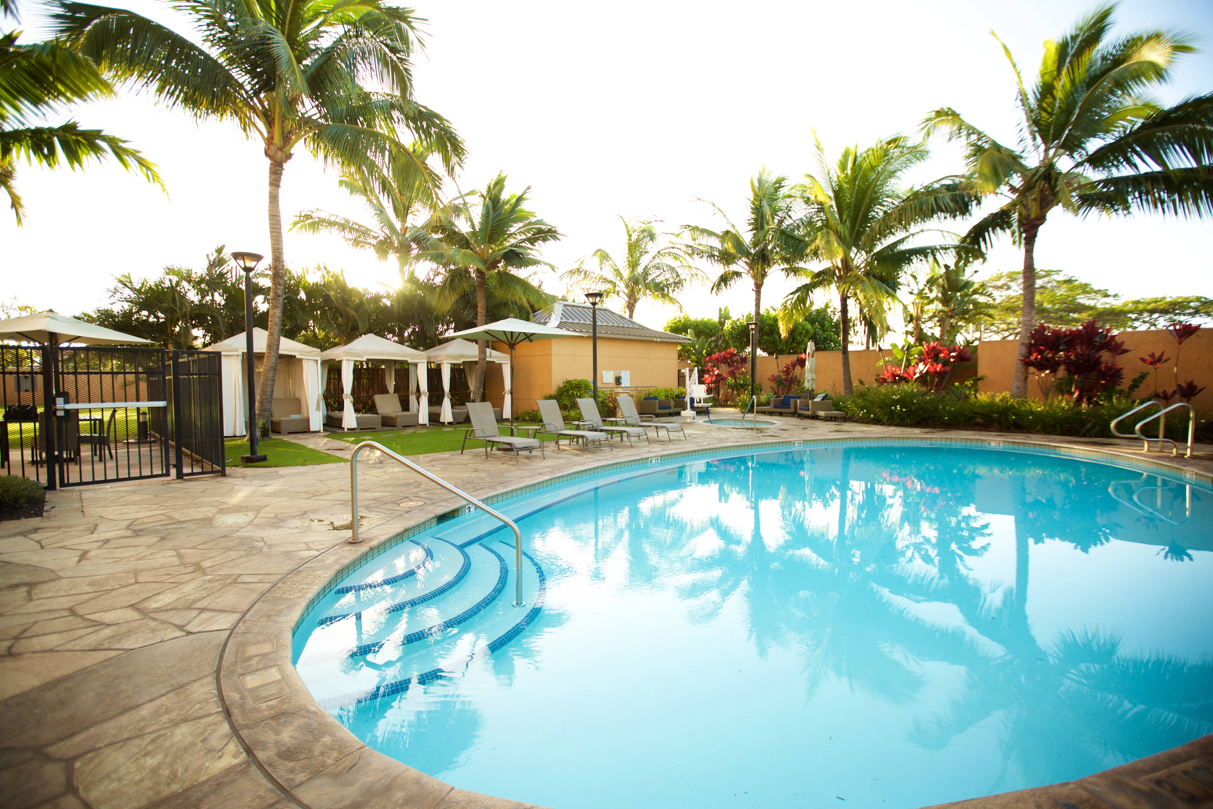 Courtyard maui kahului airport outdoor pool travel