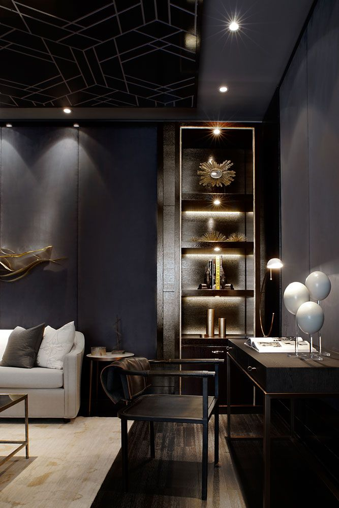 The Residences Of Pier 27 With Images Masculine Living Rooms