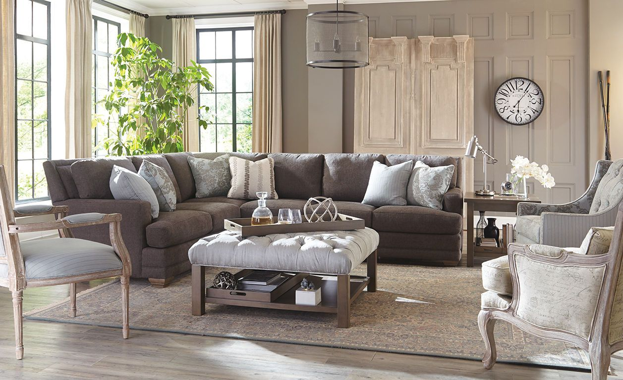 craftmaster living room furniture layout without coffee table sectional 7536 sect hiddenite nc