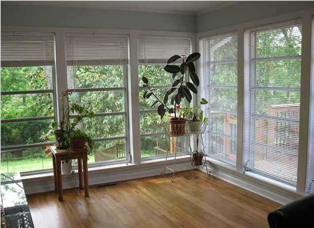 Sunroom Off Master Bedroom With Deck Exterior Remodel
