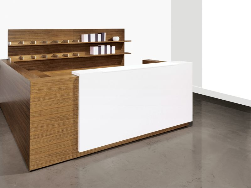 Modern Office Furniture Reception Desk Unique Design Decoration
