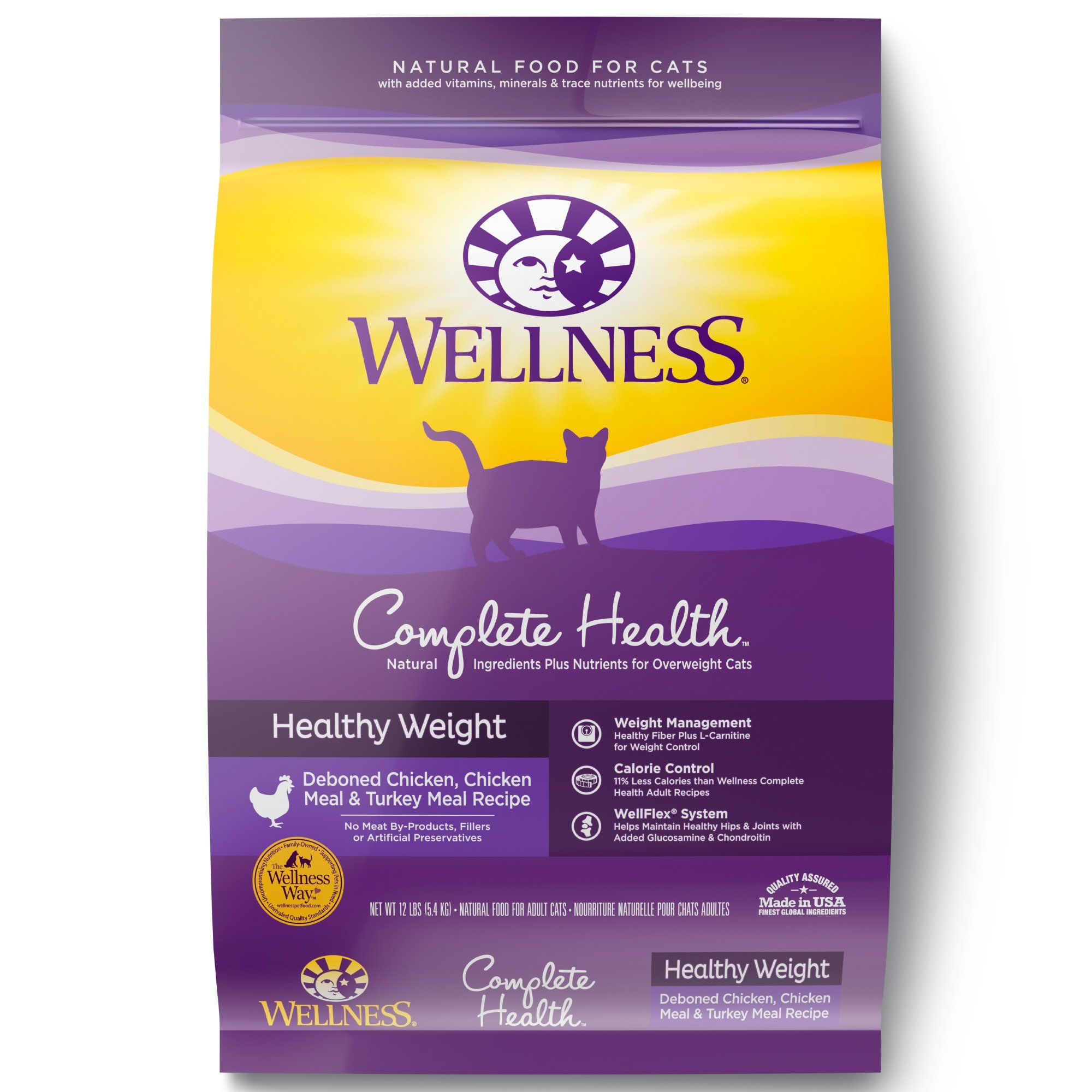 Wellness Complete Health Natural Dry Cat Food Healthy Weight Chicken And Turkey Want Additional Info Click On Th In 2020 Dry Cat Food Natural Cat Food Dry Dog Food
