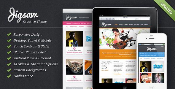 Jigsaw - Responsive WordPress Theme