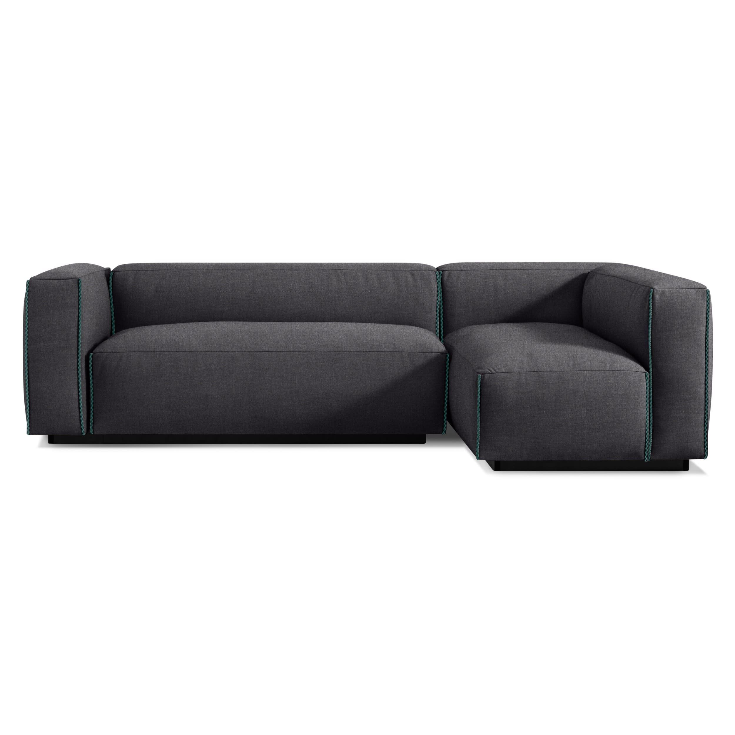 Cleon Small Sectional Sofa Small Sectional Sofa Modern Sectional Modern Sofa Sectional