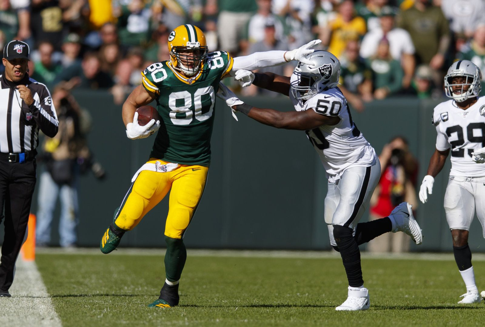 A Few Thoughts On Packers Vs Raiders Win Raiders Win Jimmy Graham Packers