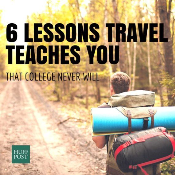 The world is not a dangerous place -- that, and other lessons you learn when traveling