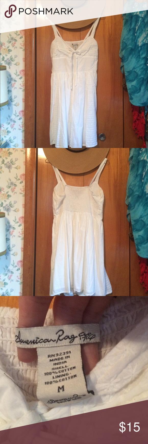 White Cotton Dress Pinterest American Rag Flower Patterns And