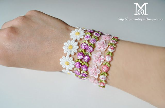 A Matter Of Style: DIY Fashion: Build your arm party: How to make istant macrame b...