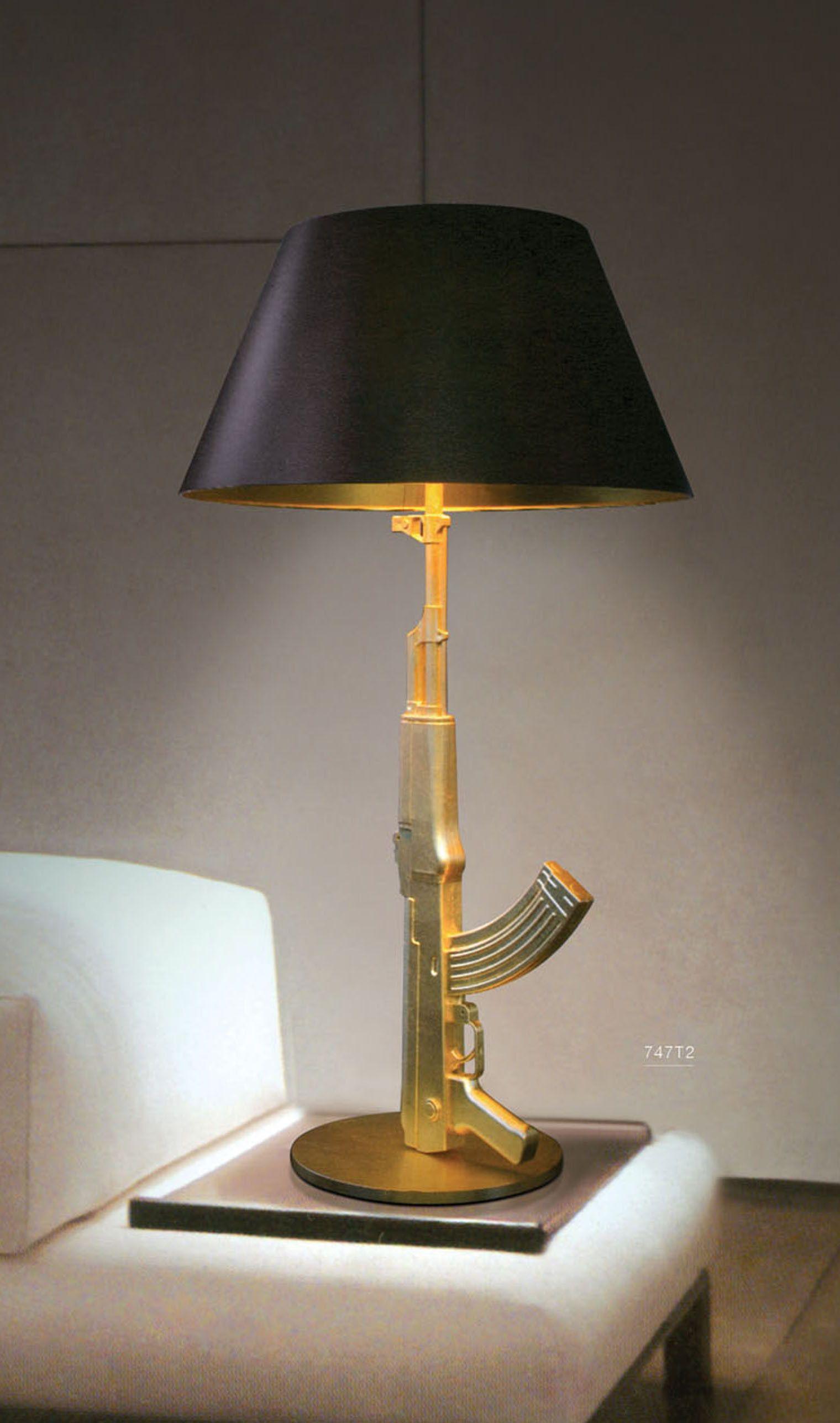 Marvelous Gold Ak 47 Lamp   Google Search