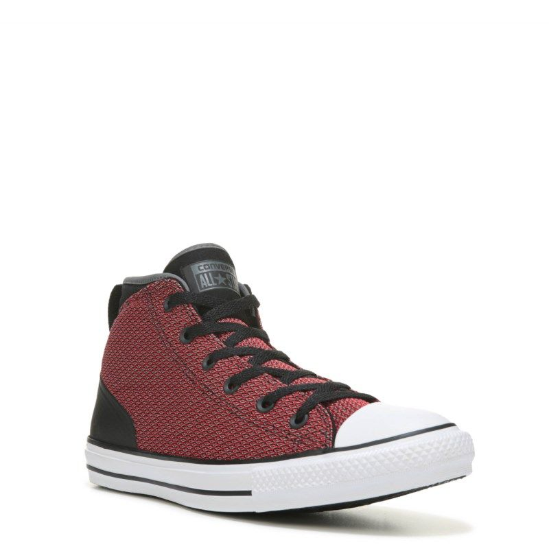 Converse Men s Chuck Taylor All Star Syde Street Reflect Sneakers (Red Black White)  - 10.0 M 2e2147153