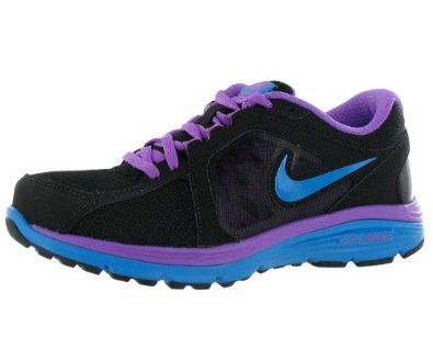 Amazon.com | New Nike Dual Fusion Run Blk/Purple Ladies 6 | Running. Nike  Shoes ...