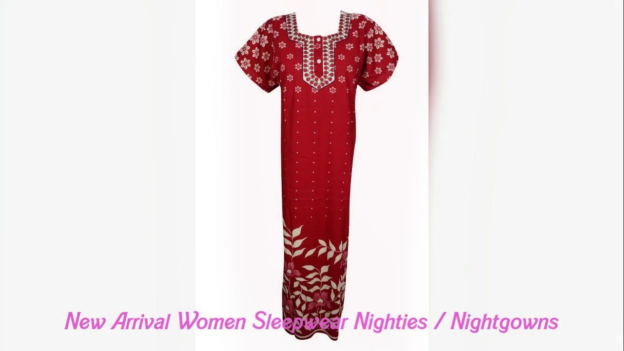 New Arrival Women Summer Nighties Collection Shop Women Summer Cotton  Nighties By Indiatrendzs At Flipkart https f8858a981