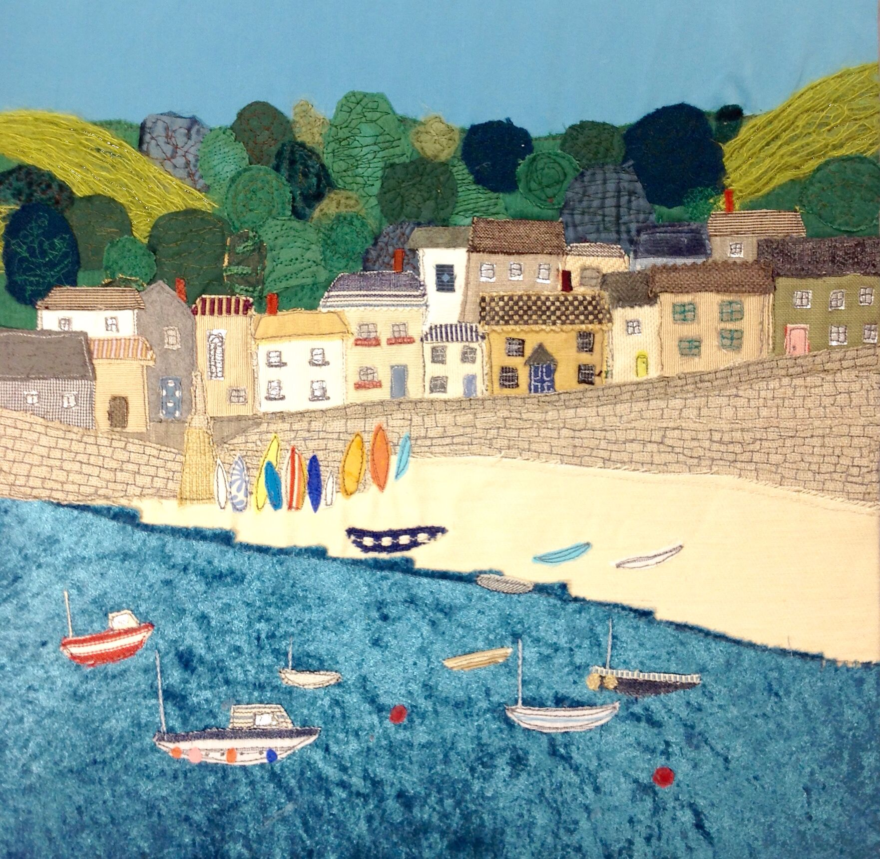 Limited edition print of Mousehole in Cornwall on sale