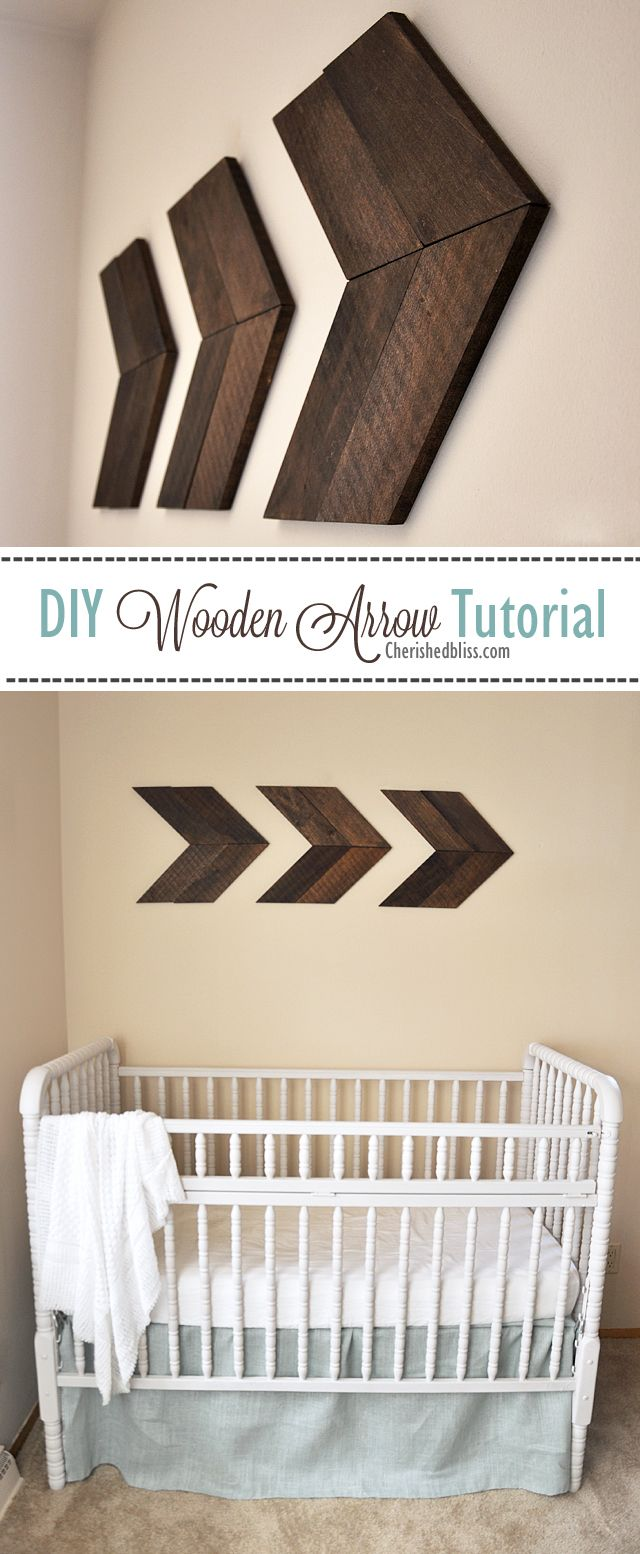 Diy Wooden Arrow Tutorial Wooden Diy Woodworking Projects Diy