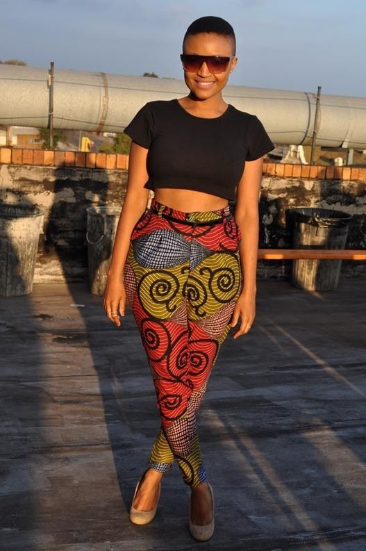 5a0e8cb8d4 shweshwe pants   Things to Wear   African fashion, Fashion, African ...