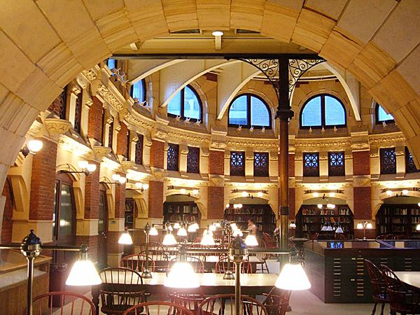 The 25 Most Beautiful College Libraries In The World College Library Library University Beautiful Library