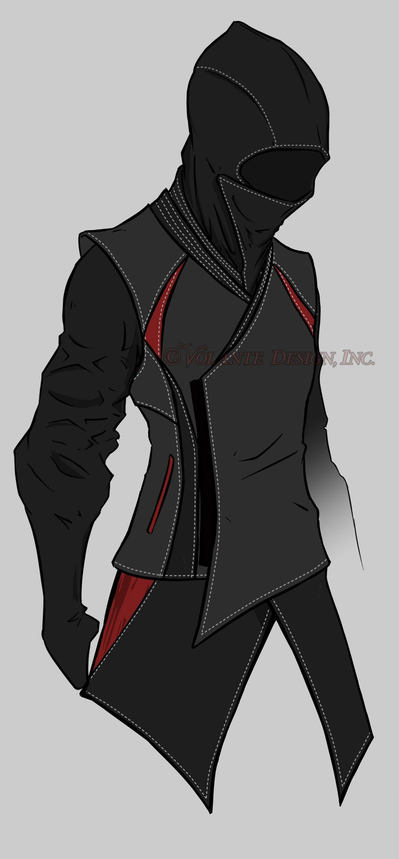 The Ninja hoodie concept from Volante Design. (Marc's modified jacket has some of the styling.)