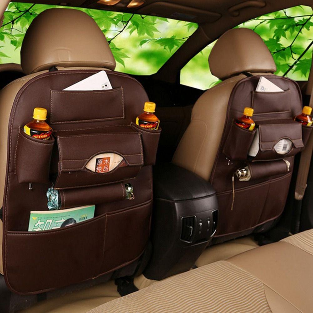 جودة عالية والجلود سيارة المقعد الخلفي حقيبة التخزين سيارة ...