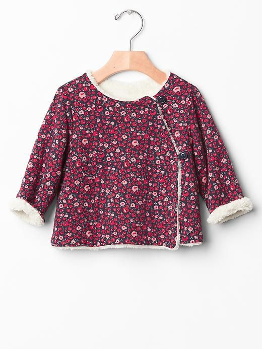 Pattern - Reversible sherpa kimono jacket | Schnittmuster ...