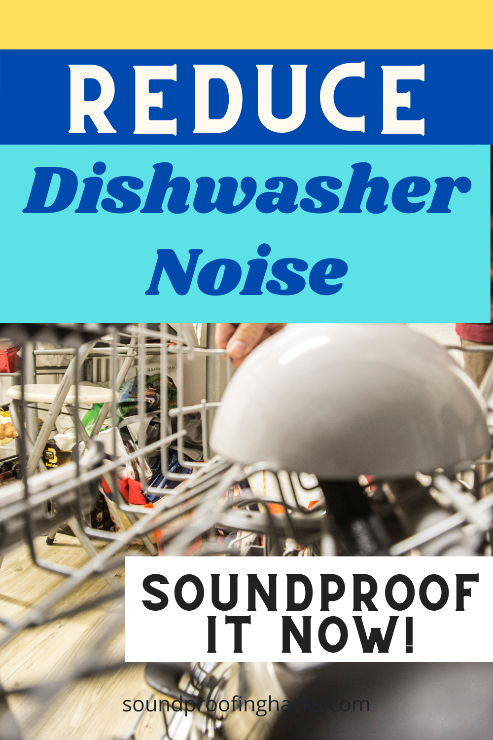 Reduce Dishwasher Noise With An Insulation Blanket Blanket Insulation Insulation Sound Proofing