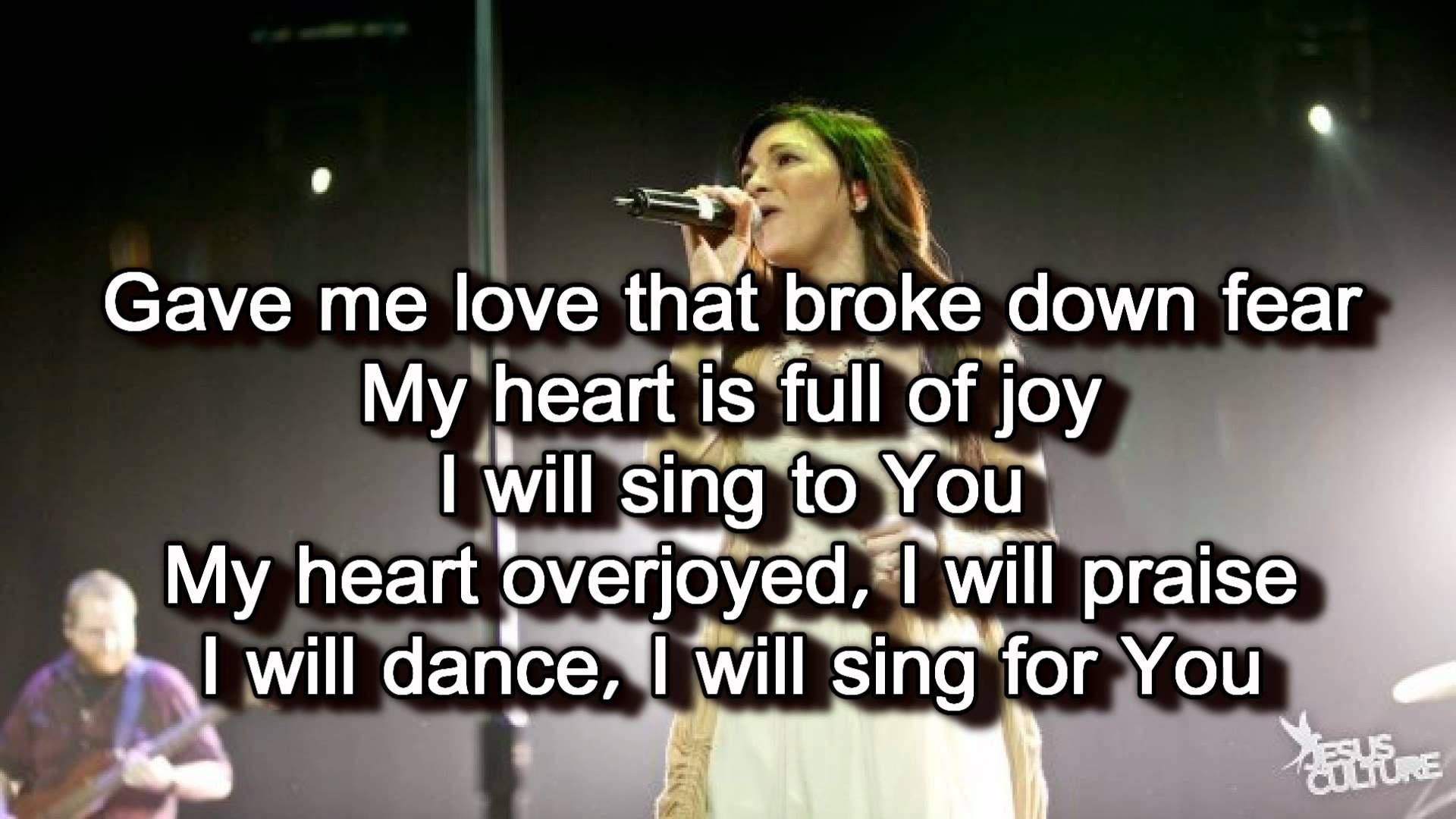 Jesus culture female singers