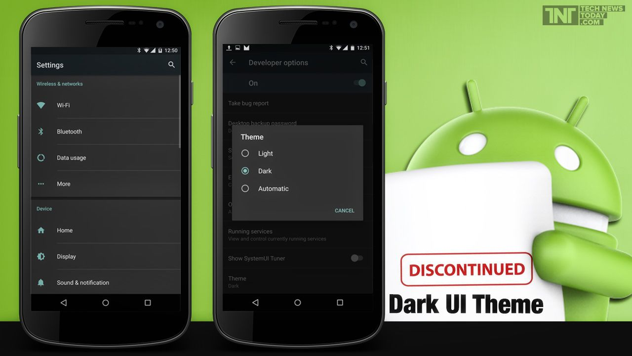 Google themes for android mobiles - Google S Latest Os Android Marshmallow 6 0 Discontinues Dark Ui Theme