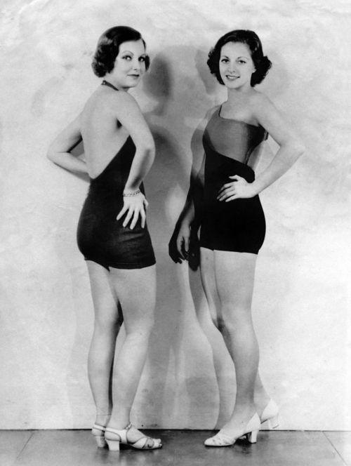 2be4eb971e Martha Sleeper & Muriel Evans <3 1932 1930s Fashion, Classic Girl,