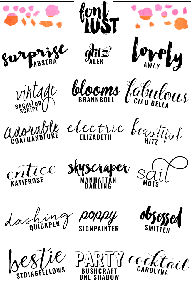The Best Handwritten Script Fonts for Your Blog