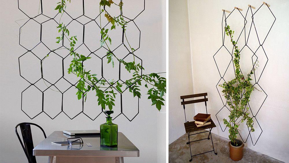 une treille murale suspendue imiter projets essayer. Black Bedroom Furniture Sets. Home Design Ideas