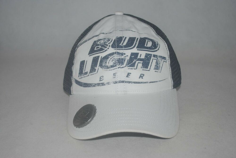 NWT Bud Light Beer Bottle Opener White Navy Trucker Cap Men s Baseball Hat  OSFM  fashion  clothing  shoes  accessories  mensaccessories  hats (ebay  link) 07f4690a03bf
