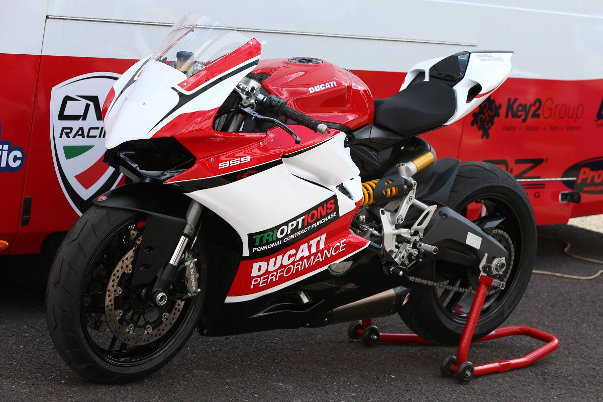 The Ducati TriOptions Cup will switch to the newer Ducati ...