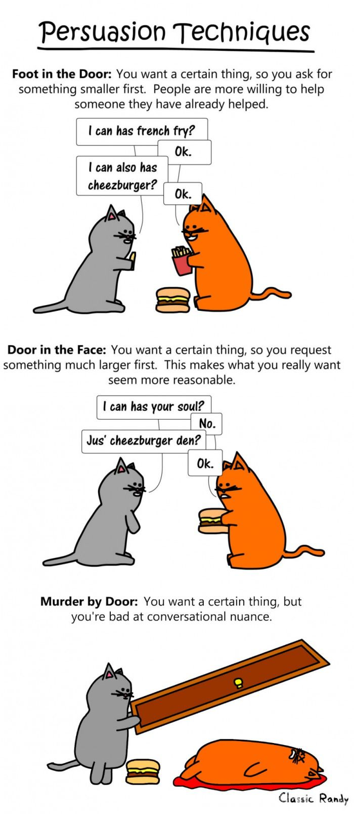 Persuasion and Doors (By Classic Randy) Funny picture