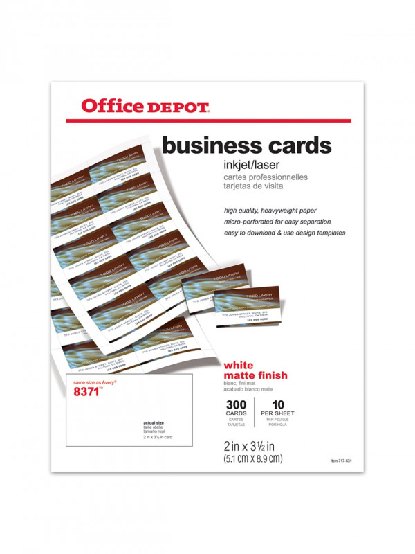Lawyer Business Cards Templates New Office Depota Brand Matte Business Cards Free Business Card Templates Business Card Templates Download Lawyer Business Card