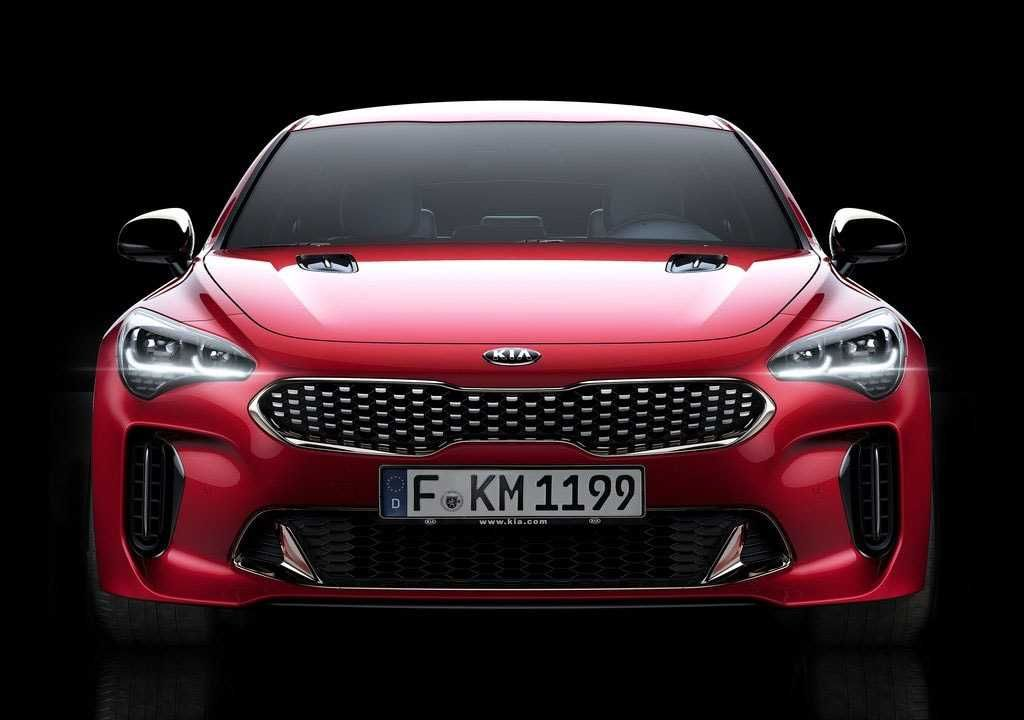 Kia Stinger 2018-2019 - a new sports from Kia – cars news, reviews, spy shots, photos, and videos.