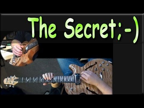 Jazz Guitar Secret: Triads On Guitar - You\'ll Get a Kick Out of This ...