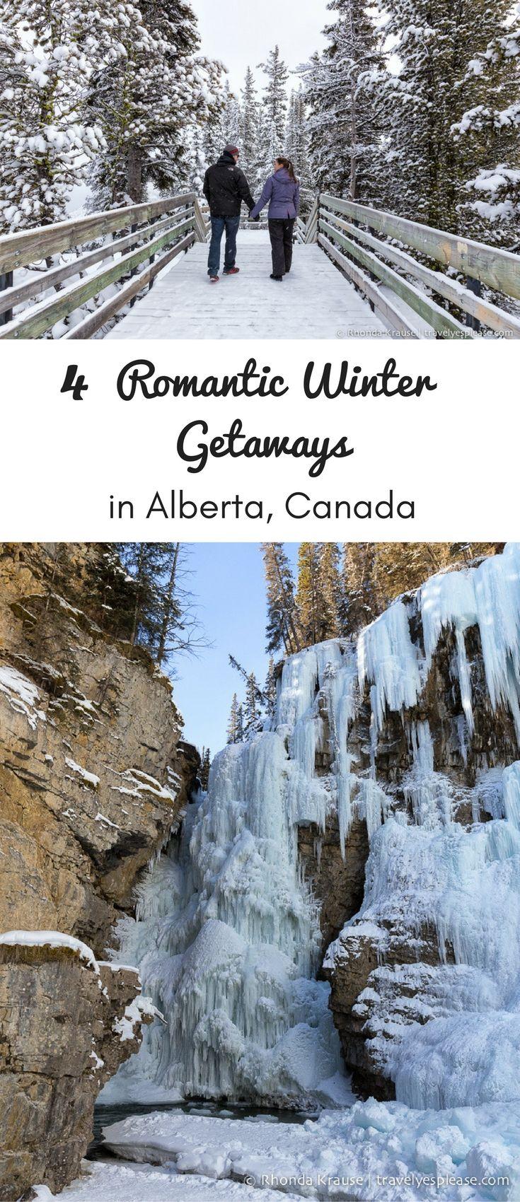 Winter Getaways: 4 Romantic Winter Getaways In Alberta